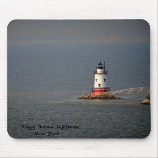 Sleepy Hollow Lighthouse NY - Mousepad