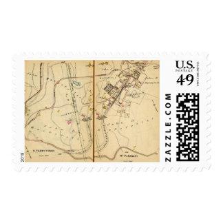 Sleepy Hollow, New York 2 Postage Stamps