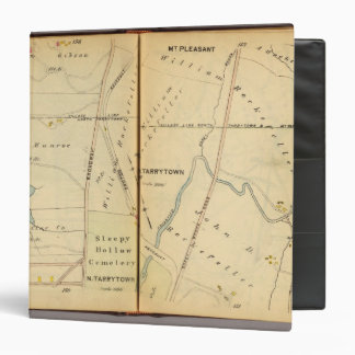 Sleepy Hollow, New York 3 Ring Binder
