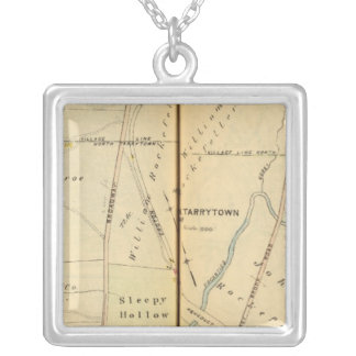 Sleepy Hollow, New York Silver Plated Necklace
