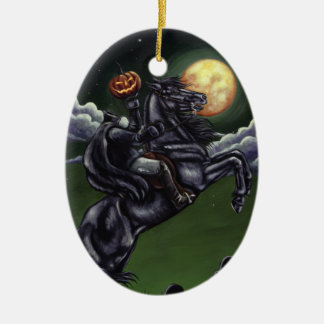 sleepy hollow painting ornament