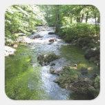 Sleepy Hollow waterway Square Sticker