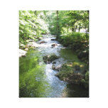 Sleepy Hollow waterway Stretched Canvas Prints