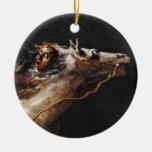 Sleepy Hollows Ichabod Crane Ceramic Ornament
