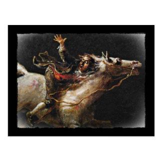Sleepy Hollows Ichabod Crane Post Cards