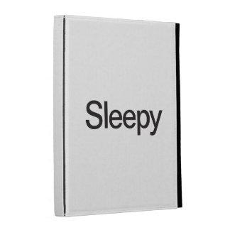 Sleepy iPad Folio Cases