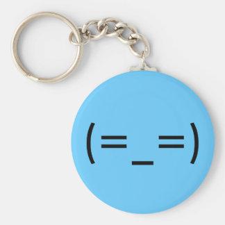 Sleepy (Japanese Smiley) Keychain