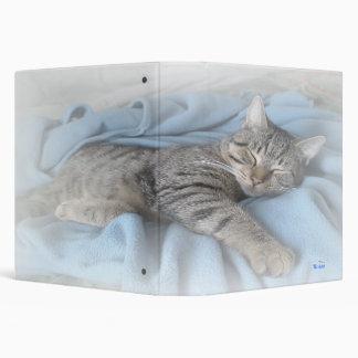 """Sleepy Kitty 2.2"""" Binder"""