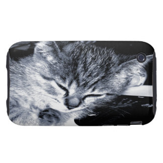 Sleepy Kitty 2 iPhone 3G/3GS Case-Mate Tough iPhone 3 Tough Cases