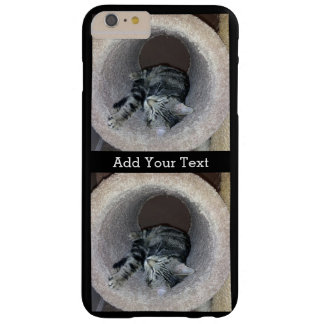 Sleepy Kitty Cat by Shirley Taylor Barely There iPhone 6 Plus Case