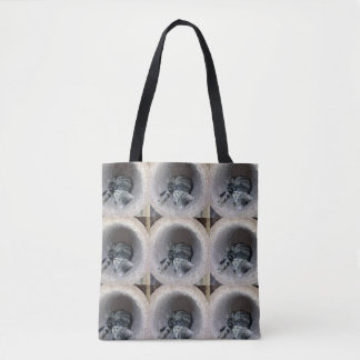 Sleepy Kitty Cat by Shirley Taylor Tote Bag