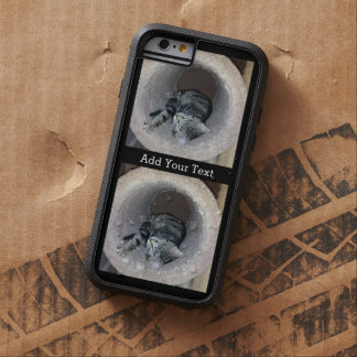 Sleepy Kitty Cat by Shirley Taylor Tough Xtreme iPhone 6 Case