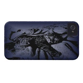 Sleepy Kitty iPhone 4 Case
