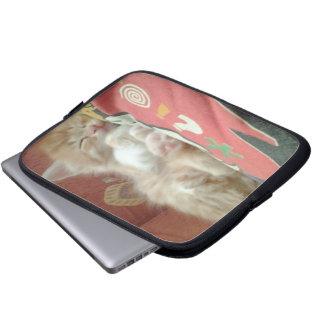Sleepy Kitty Laptop Case Laptop Sleeve