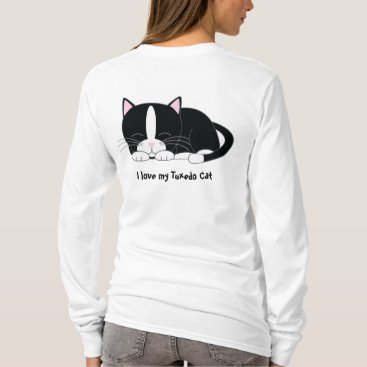 heartlocked Sleepy Kitty {Tuxedo} T-Shirt