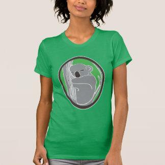 Sleepy Koala Women's Kelly Green T-Shirt
