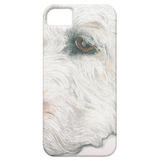 Sleepy Labradoodle iPhone 5 Cases