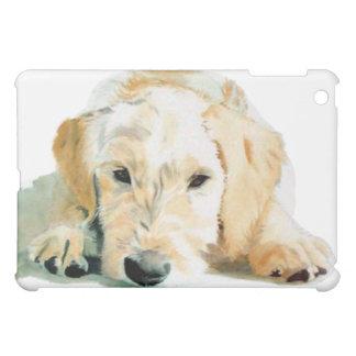Sleepy Labradoodle Pup iPad Mini Cases