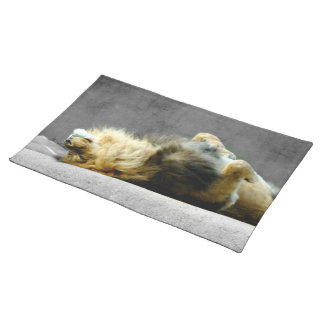 Sleepy Lion Placemat
