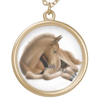 Sleepy Little Foal Necklace