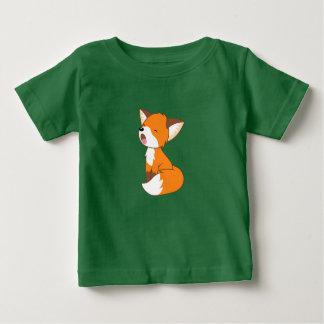 Sleepy Little Fox Baby T-Shirt