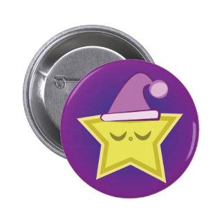 Sleepy Little Star Button