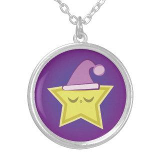 Sleepy Little Star Necklace