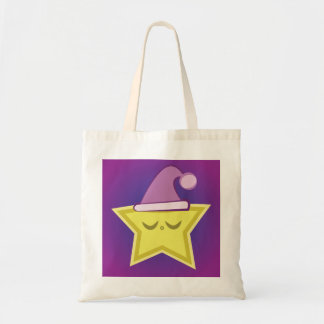 Sleepy Little Star Tote Bag