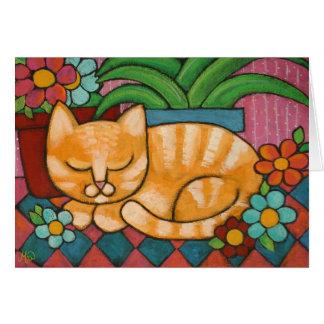 sleepy_marmalade greeting card