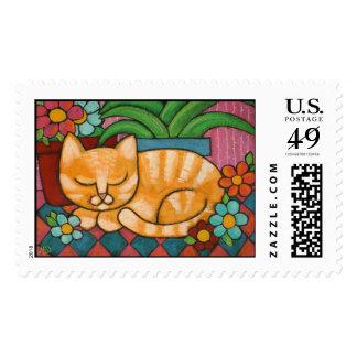 sleepy_marmalade postage stamp