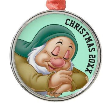 Disney Themed Sleepy Metal Ornament