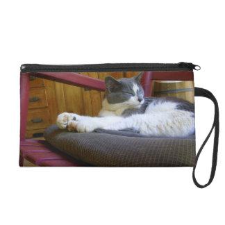 Sleepy Miss Biscuit/Bagettes Bag Wristlet