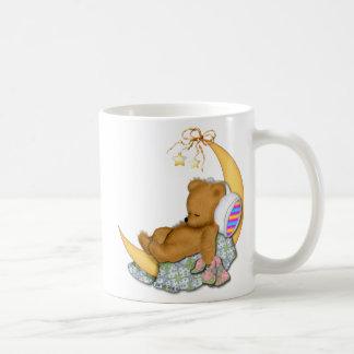 Sleepy Moon Bear Coffee Mug