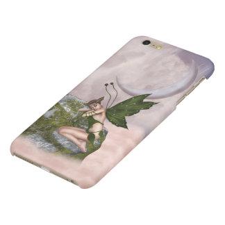 Sleepy Moon Fairy Glossy iPhone 6 Plus Case
