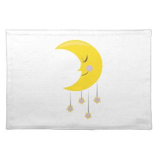 Sleepy Moon Cloth Placemat