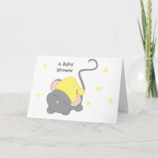 Sleepy Mouse card