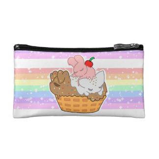 Sleepy Neapolitan Pets (Cosmetic Bag) Makeup Bag