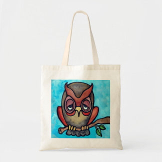 Sleepy Owl Bag