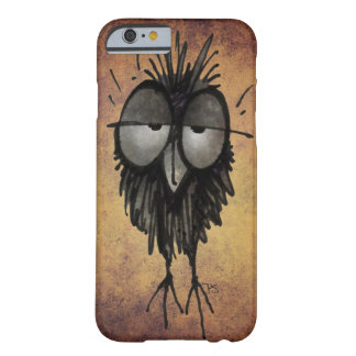 Sleepy Owl Funny Barely There iPhone 6 Case