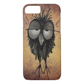Sleepy Owl Funny iPhone 7 Case