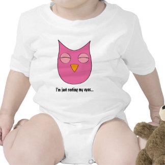"Sleepy Owl - ""I'm just resting my eyes"" Shirts"