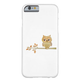 Sleepy Owl in Tree Case Barely There iPhone 6 Case