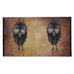 Sleepy Owl iPad Folio Covers
