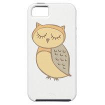 Sleepy Owl iPhone SE/5/5s Case
