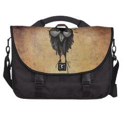 Sleepy Owl Laptop Commuter Bag