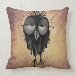 Sleepy Owl Pillow