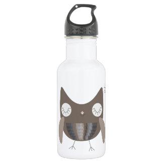 Sleepy Owl Water Bottle