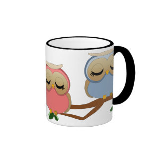 Sleepy Owls Coffee Mug