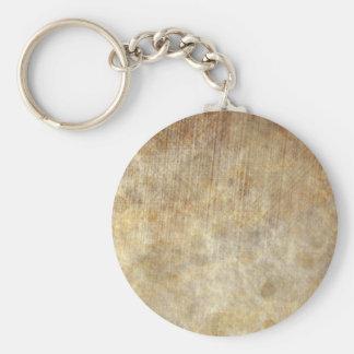 Sleepy Parchment Basic Round Button Keychain