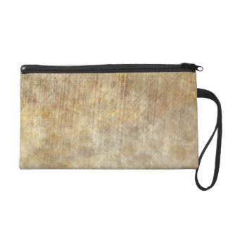 Sleepy Parchment Wristlet Purse